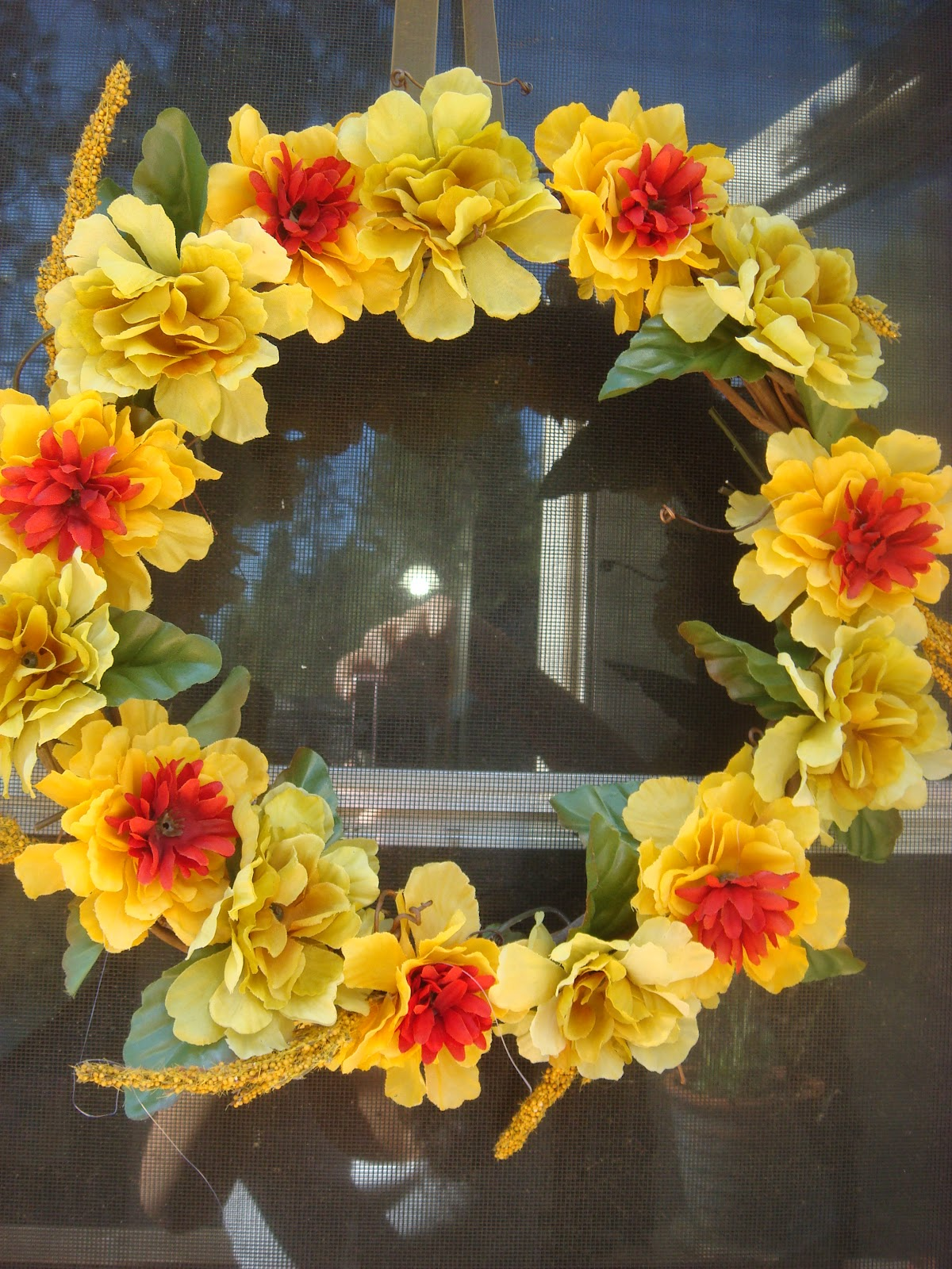 Diy Fancy Nails: Fancy Treats By Jess: DIY: Fancy Fall Inspired Wreath