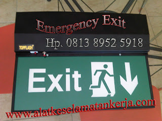 Emergency exit slim Double facce