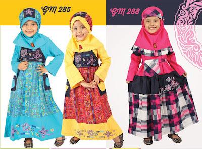 baju muslim anak keke