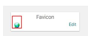 Favicon blog berhasil diganti