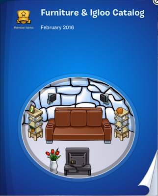 Club Penguin Furniture & Igloo Catalog Cheats February 2016