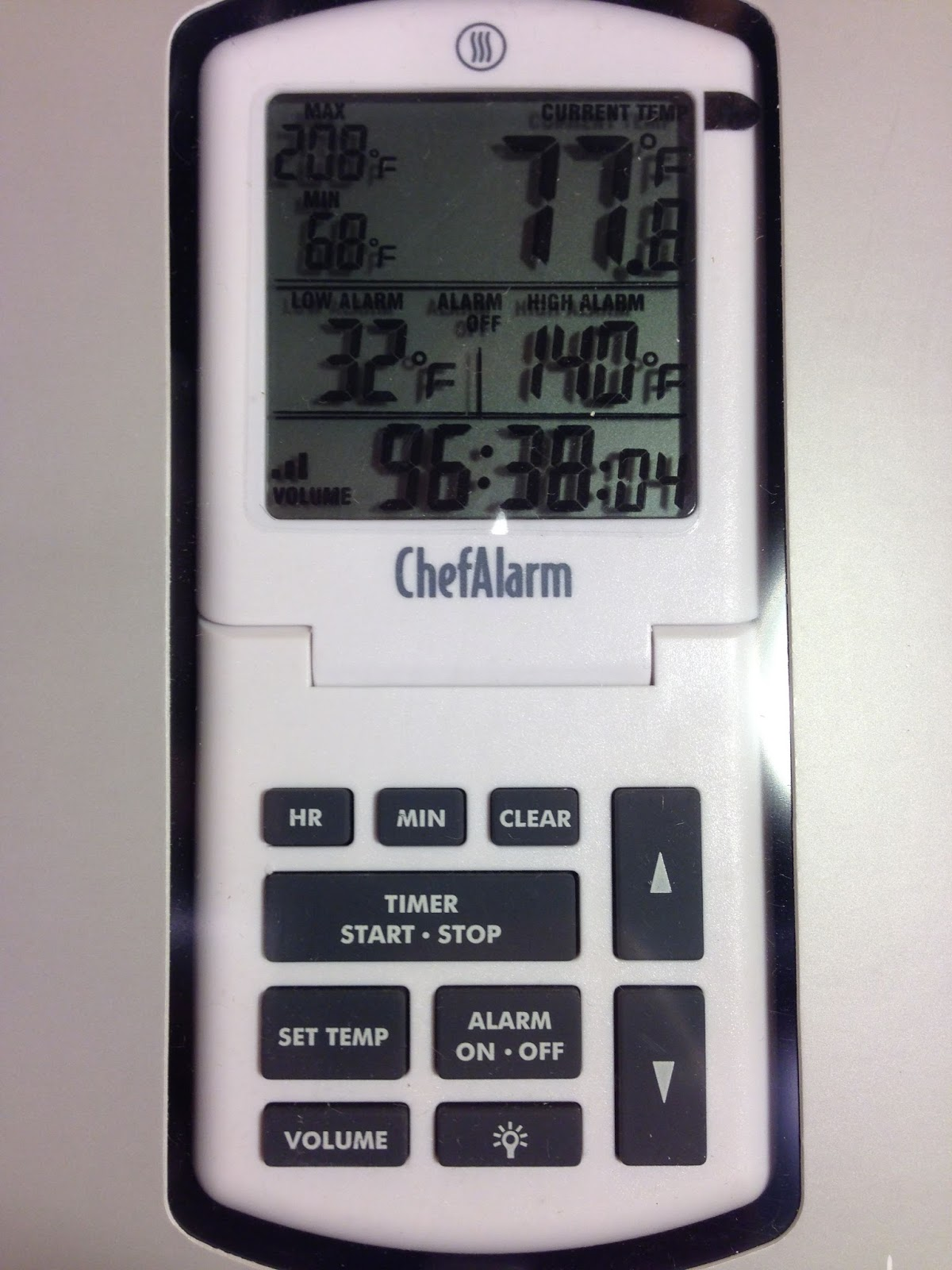 Hands On Review Chefalarm Thermometer And Timer Homebrew Finds
