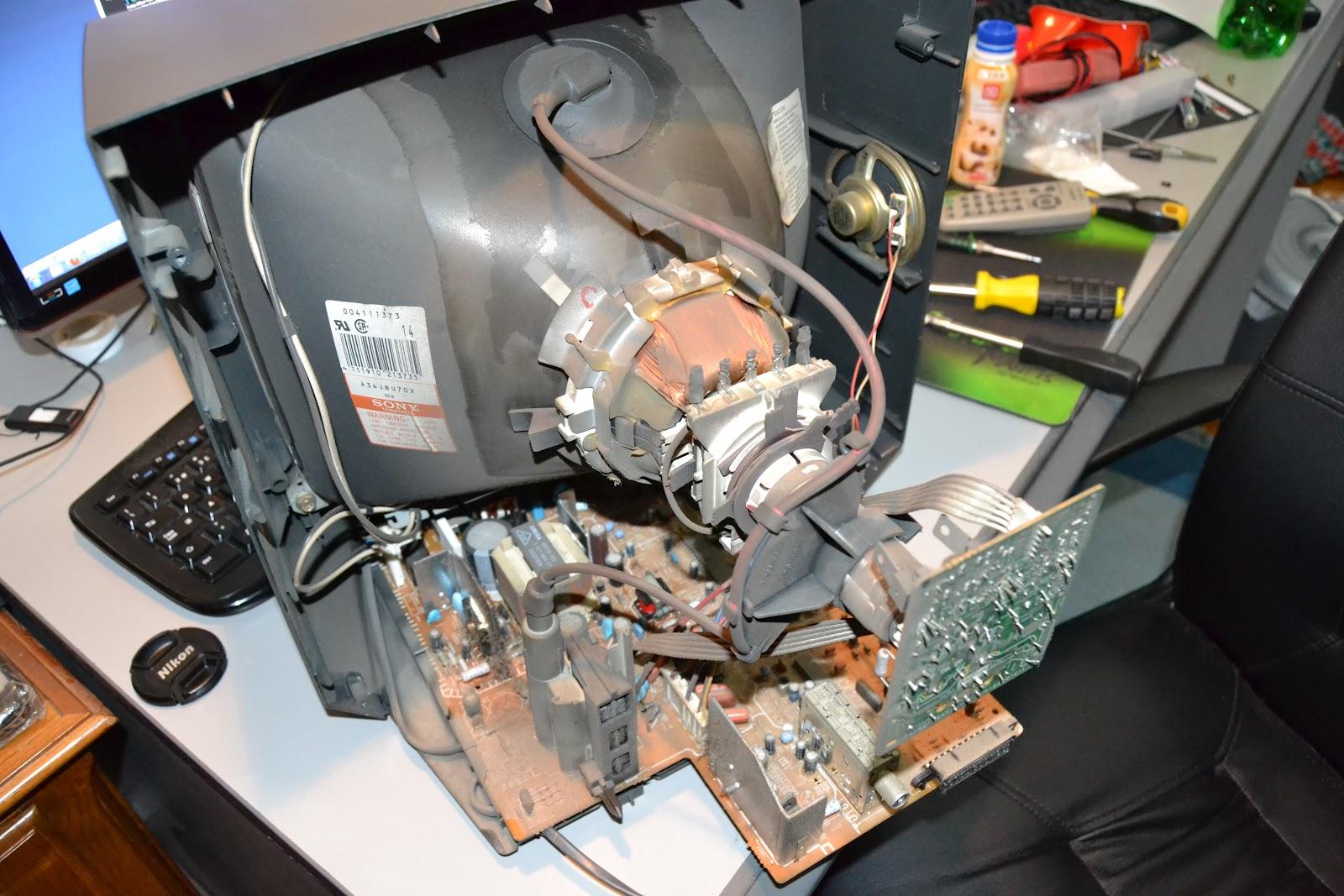 Crt Tv Repair Problems Nail Lamp Uv Vs Led