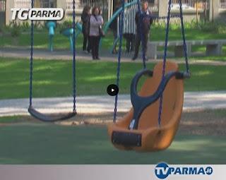 Inaugurato il Parco intergenerazionale a Villa Parma