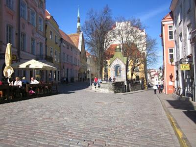 Pikk Street in Tallinn