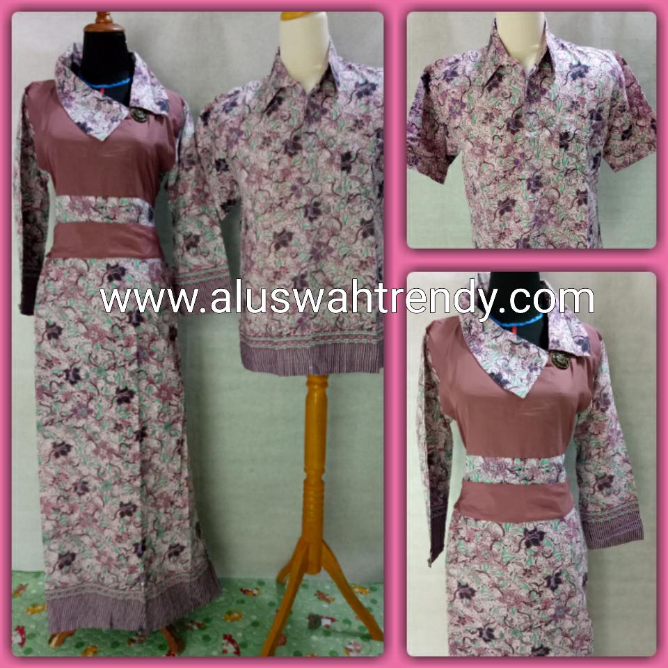 Batik Sarimbit 011 Kemeja Gamis
