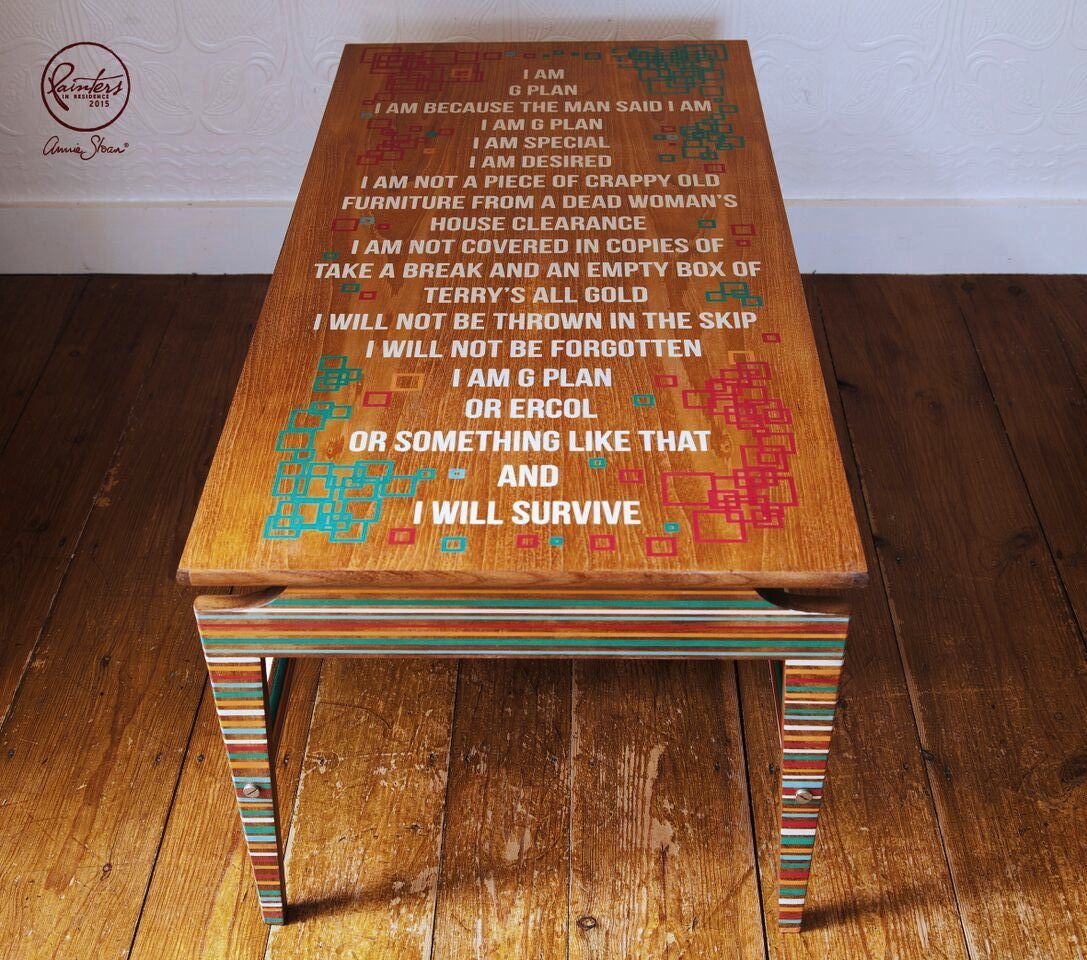Annie Sloan Paint Amp Colour Tim Gould S Quot G Plan Quot Table