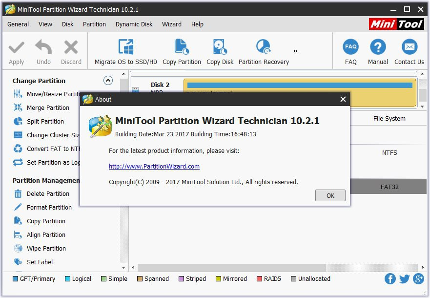 minitool partition wizard technician 10.2.3 key