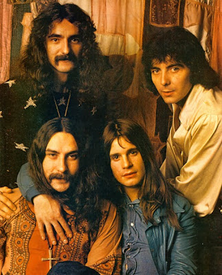 Black Sabbath Bill Ward, Geezer Butler, Tony Iommi, Ozzy