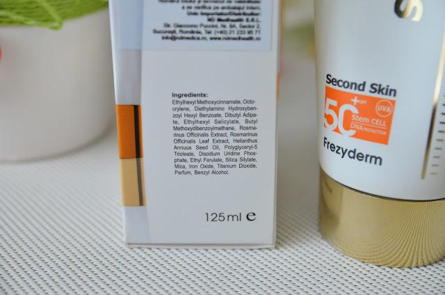 frezyderm velvet second skin spf50
