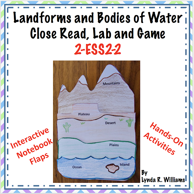 https://www.teacherspayteachers.com/Product/Landforms-and-Bodies-of-Water-Close-Read-and-Game-NGSS-2-ESS2-2-Discount-1st-wk-3555059