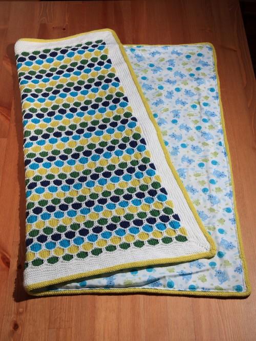 Honeycomb Stroller Blanket - Free Pattern