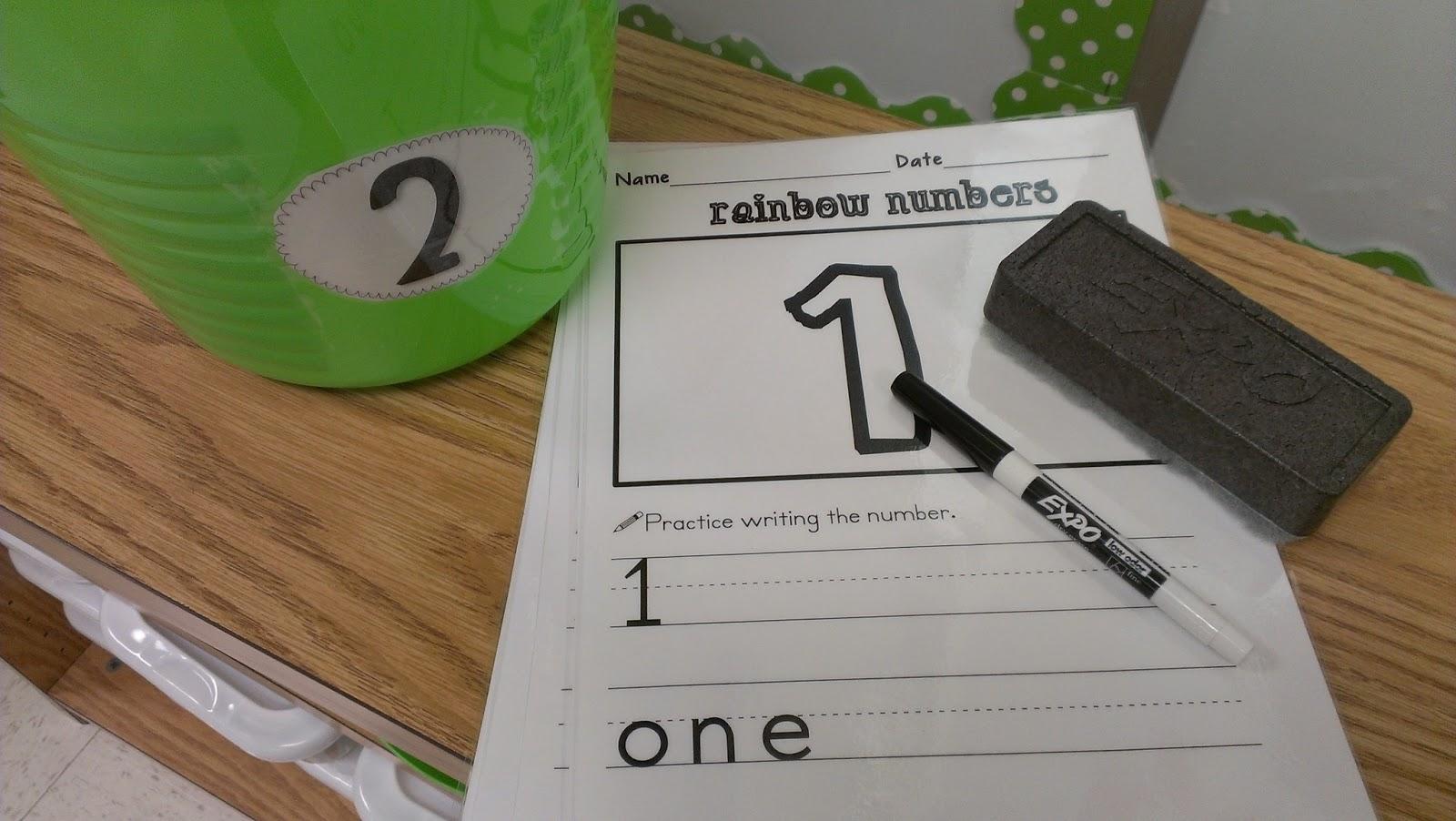 Kinder Garden: Kindergarten Math Centers
