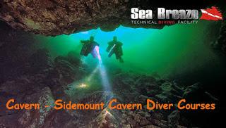 Cavern Diving - Greece - Sea Breaze