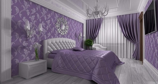 The final stage of design bedrooms - choose the design covers