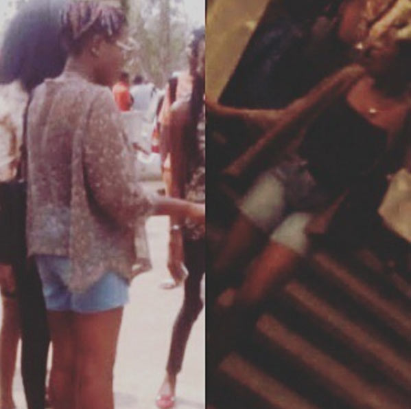 Girl sent out from OAU class for wearing this
