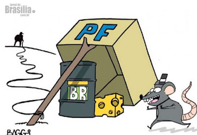 Polícia Federal continua a perseguir petistas e indicia presidente do Bradesco por corrupção e lavagem de dinheiro