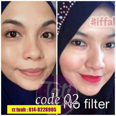 GLOW WHITE FOUNDATION TATISKINCARE CERAH NATURAL MURAH ORIGINAL