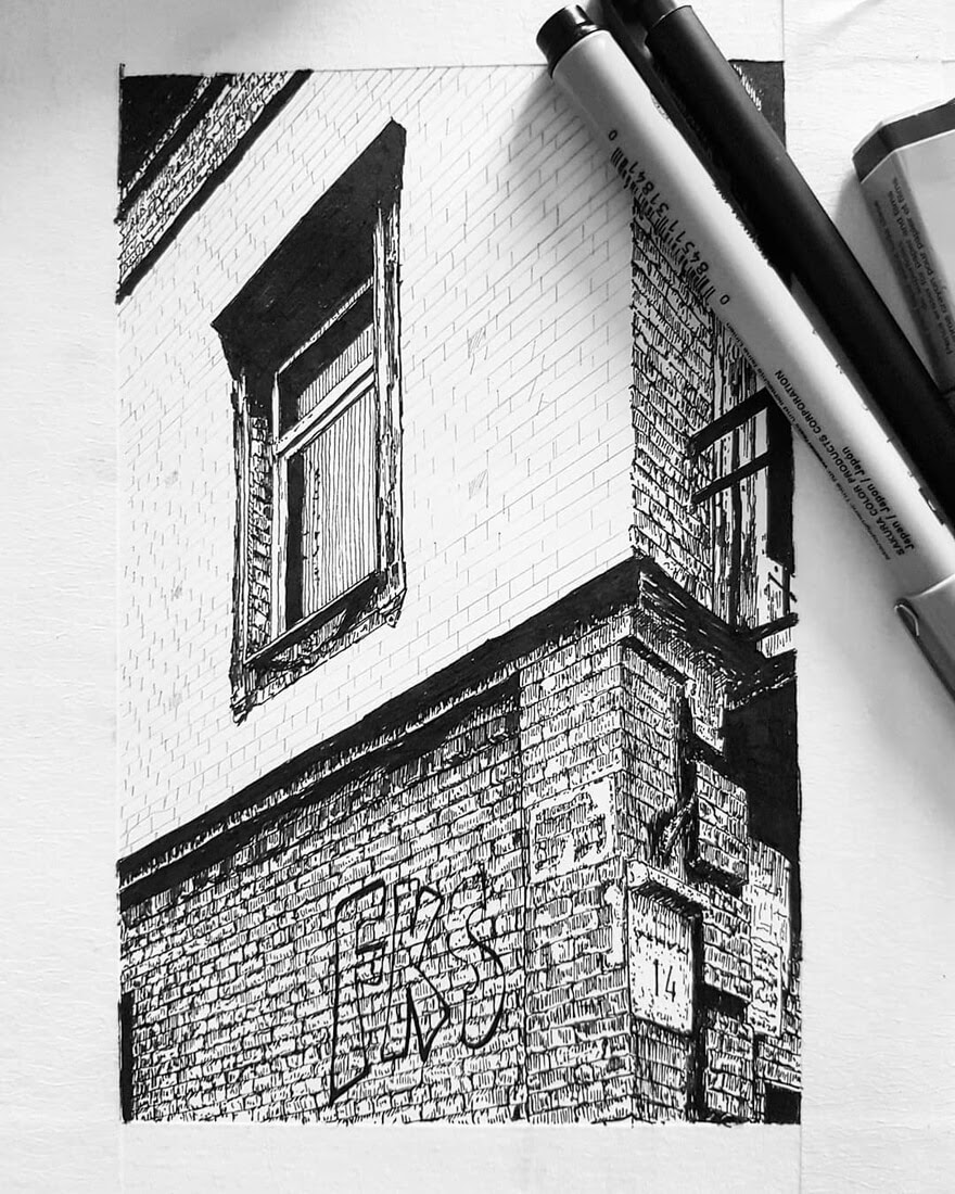 03-Brickwork-Detailing-WIP-Natali-M-Drawings-of-Buildings-with-Architectural-Details-www-designstack-co