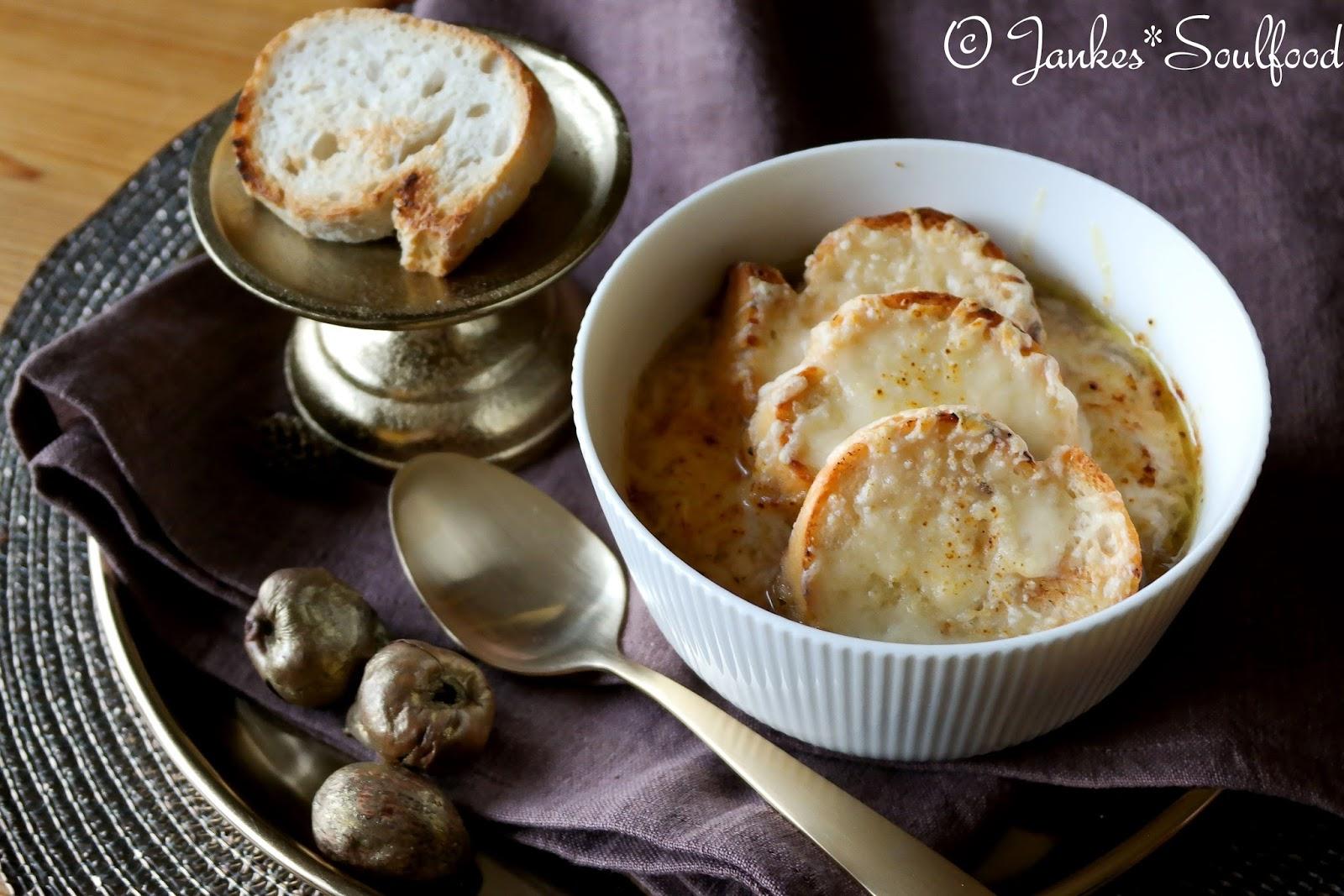 Französische Zwiebelsuppe von Jankes Soulfood