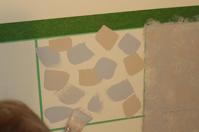 Manitoba gardens faux painting ceramic tile walls - Painting ceramic tile walls ...