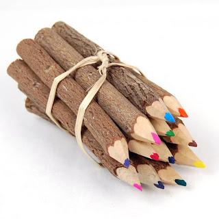 Tahta Renkli Kalemler