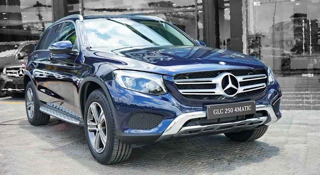 Ngoại thất Mercedes GLC 200 2019 được thiết kế trẻ trung và lôi cuốn