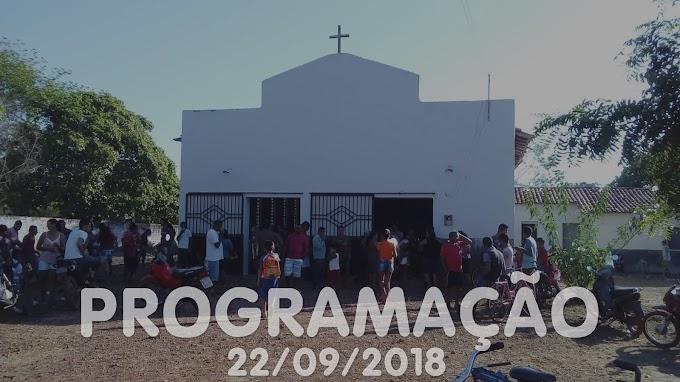 Festa de São Miguel Arcanjo - Programação 22/09/2018