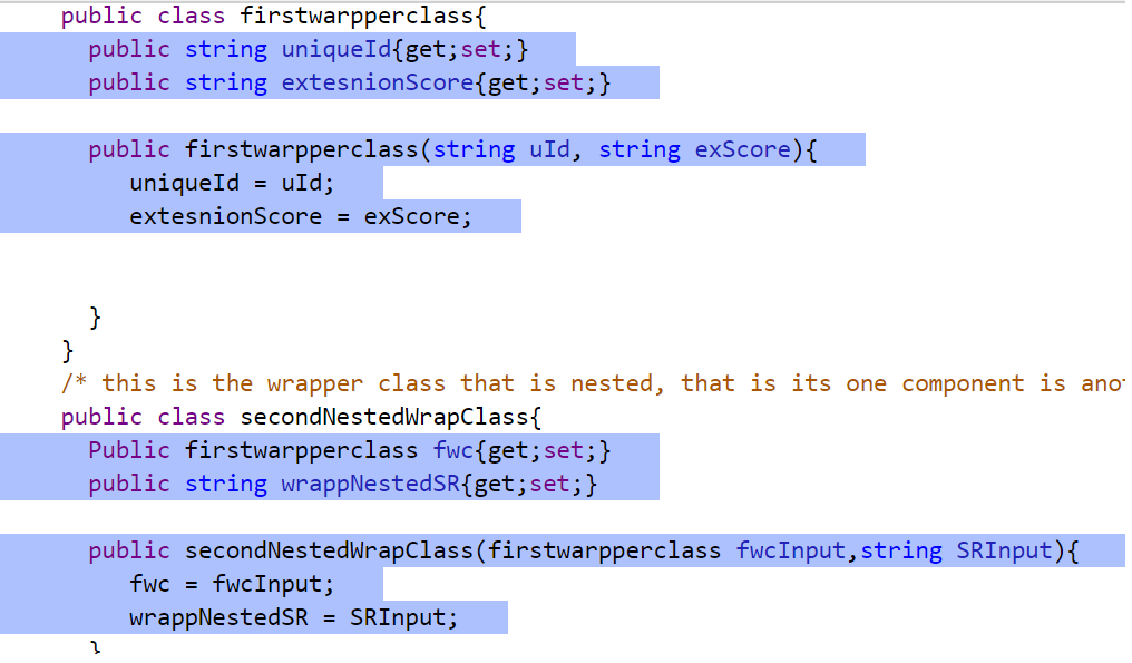CloudForce4u: How to use wrapper class in apex