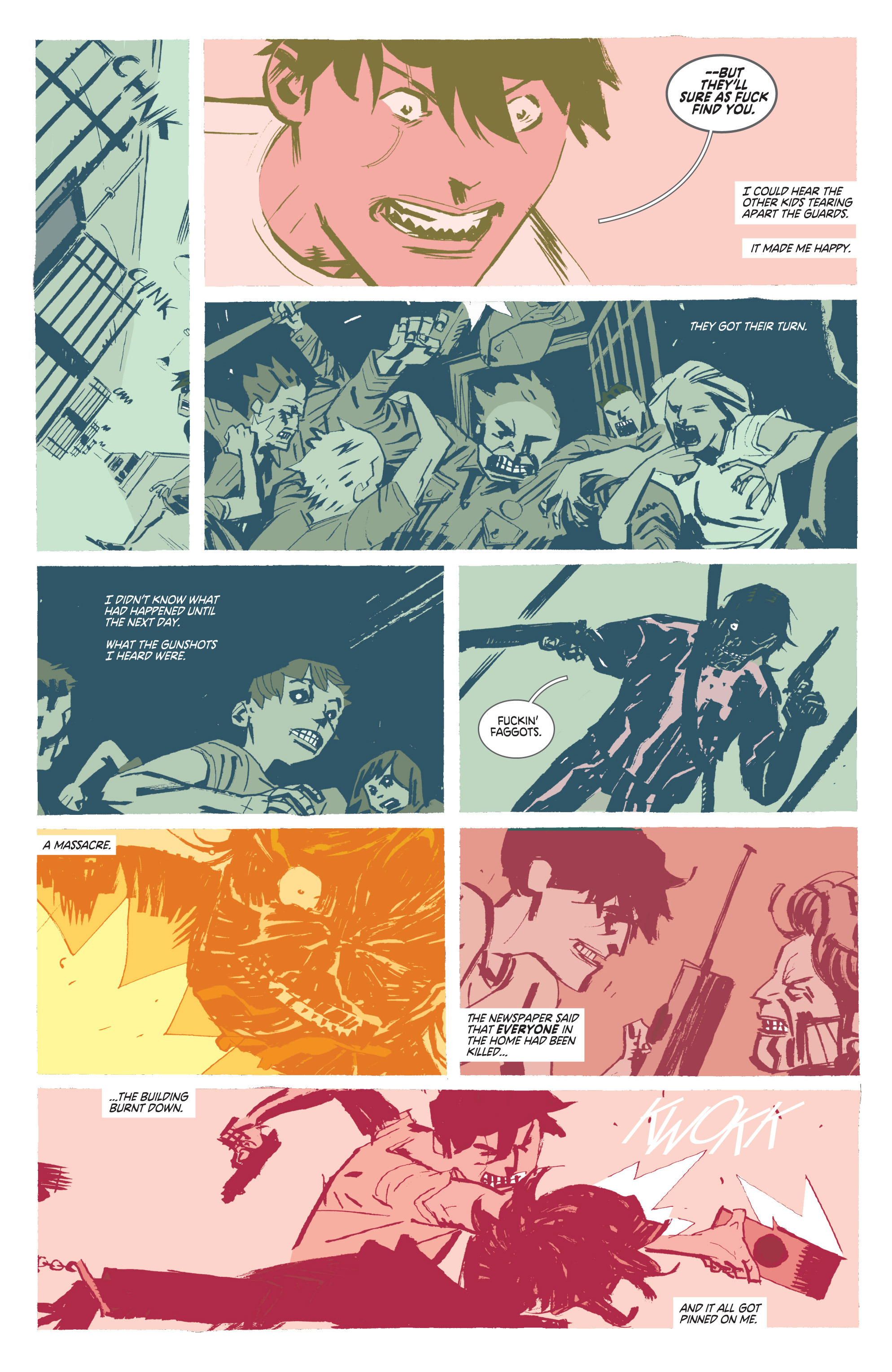 Read online Deadly Class comic -  Issue #8 - 22