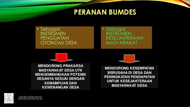 BUMDes Adalah Strategi Desa Menarik Investasi