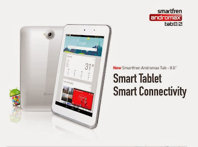 Andromax Tab 8.0, Andromax T, smartfren, ponsel, smartphone, tablet android, android, gadget