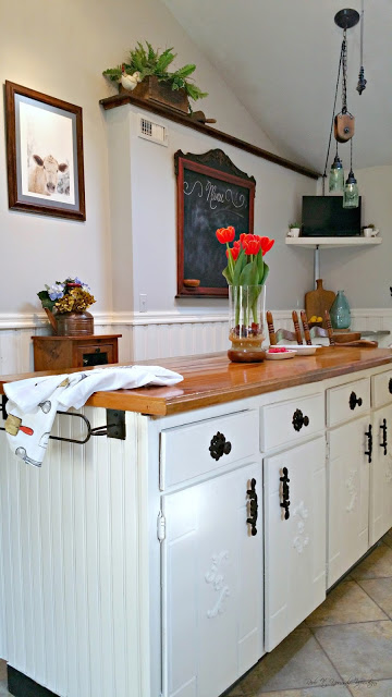 farmhouse budget kitchen makeover craigslist finds