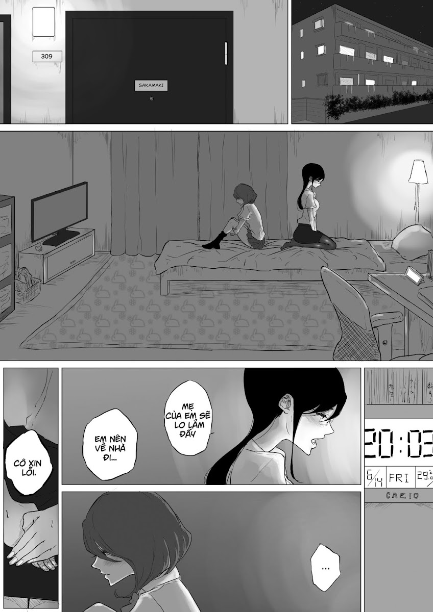HentaiVN.net - Ảnh 16 - Tuyển tập Yuri Oneshot - Chap 145: I Went to a Lesbian Brothel and My Teacher Was There