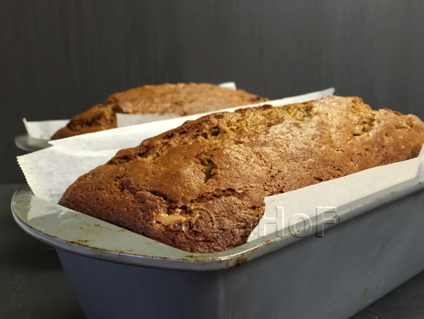 Pumpkin Nut Loaf, straight from the oven