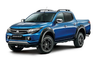 Mitsubishi L200 Barbarian SVP Double Cab (2017) Front Side