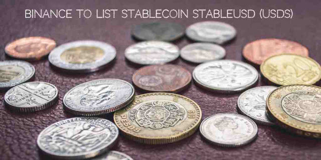 Binance to List stablecoin StableUSD (USDS)
