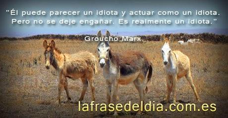Mensajes de Humor –  Groucho Marx