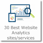 30 Best Website Analytics sites/services