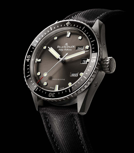 Blancpain Fifty Fathoms Bathyscaphe Annual Calendar