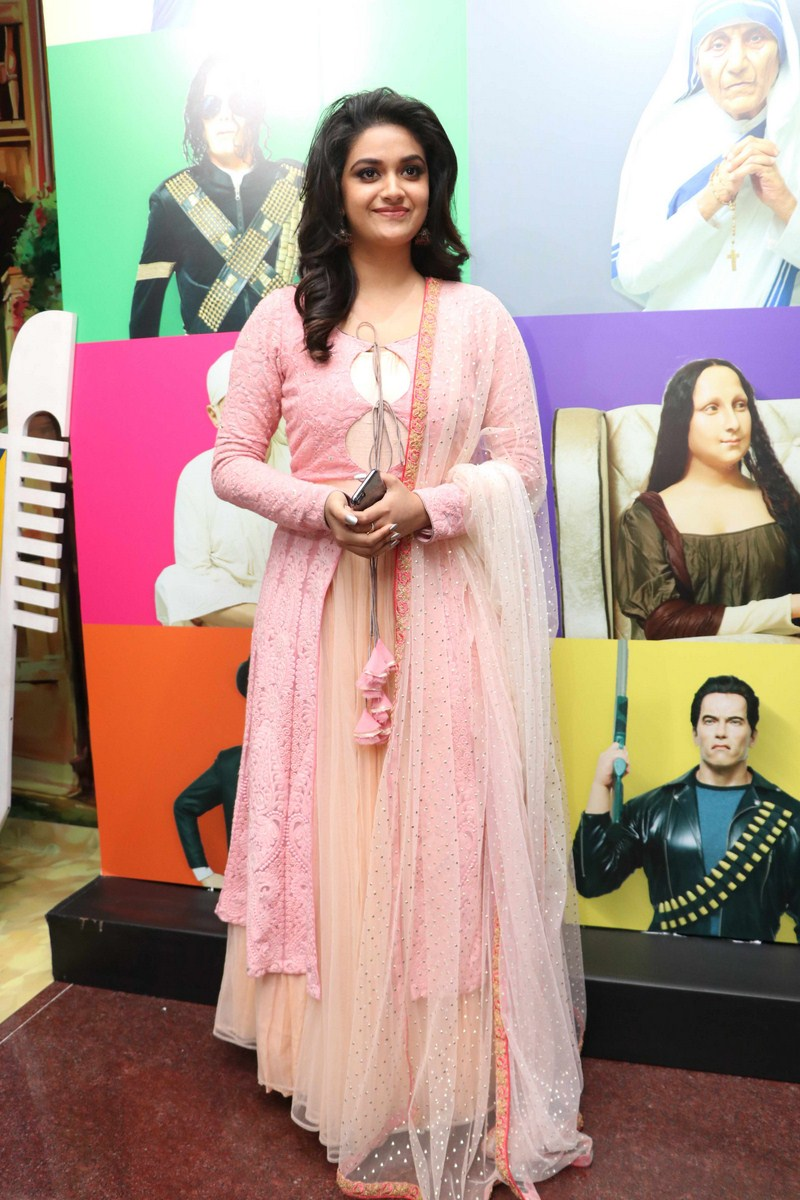 Keerthy Suresh launches Live Art Museum Photos