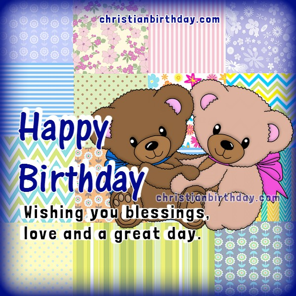 Birthday Christian Card Free Image Birhtday Wishes To Daughter Sister Friend Or