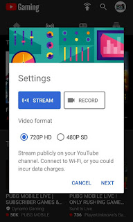 Best Application For Live Stream with Mobile On Youtube 2019