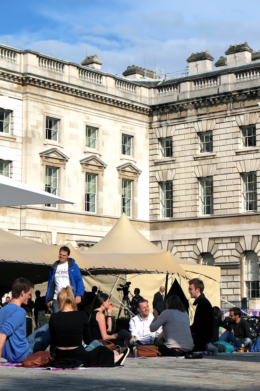 Somerset House #PicnicWithMercure event 2016
