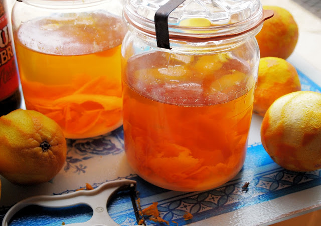 Home-made Orange Liqueur