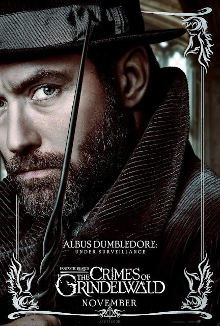 Pôsteres dos personagens de 'Os Crimes de Grindelwald' são divulgados | Alvo Dumbledore | Ordem da Fênix Brasileira