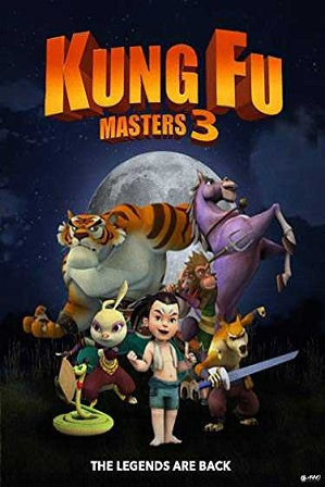 Kung Fu Masters 3 2018 750MB English 720p Web-DL Download thumbnail