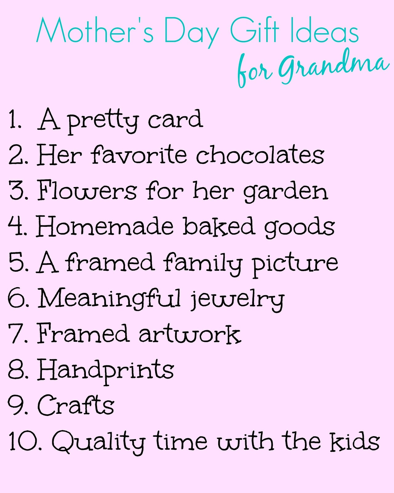 Mothers Day Gift Ideas For Grandma Casual Claire