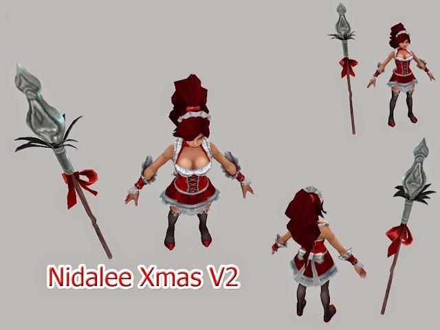 Mod Skin Nidalee Xmas V2
