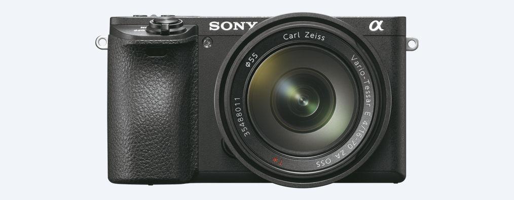Sony A6500, вид спереди